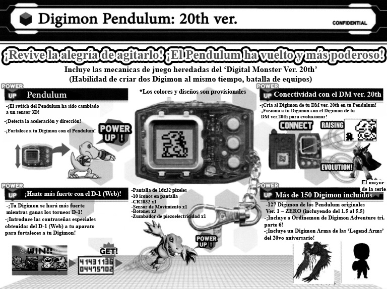 (Propuesta para el 'Digimon Pendulum Ver. 20th'.)