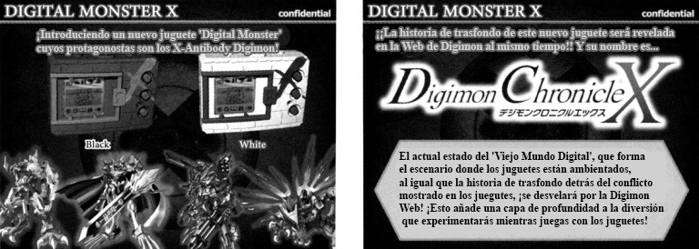 (Documentos de las propuestas para el 'Digital Monster X')